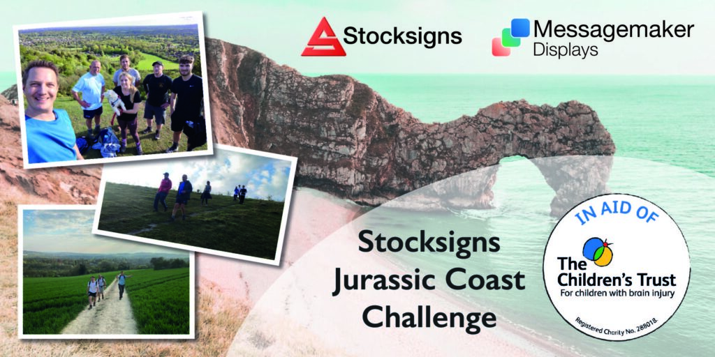 Stocksigns and Messagemaker Displays charity walk