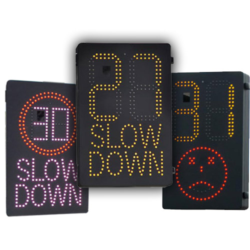 vehicle activated speed signs from messagemaker displays and stocksigns